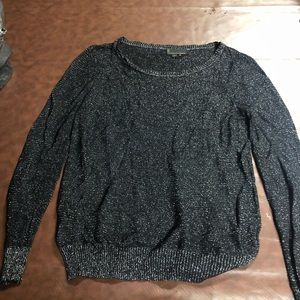 Sparkly black sweater